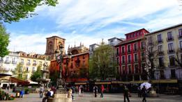 Los mejores rincones de Granada comienzan en sus plazas