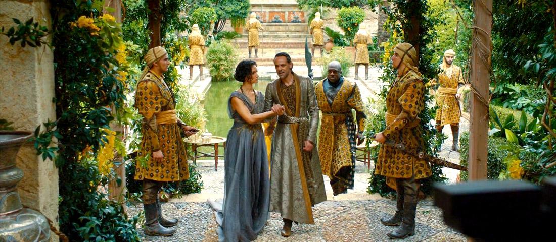 Los Martell en la Alcazaba