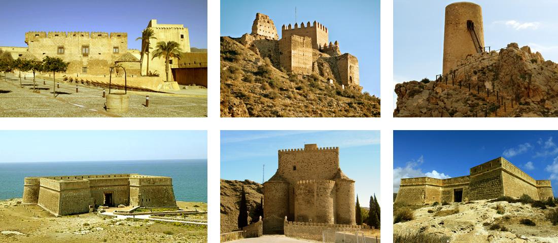 Castillo de Cuevas de Almanzora, Castillo de Guardias Viejas y otros