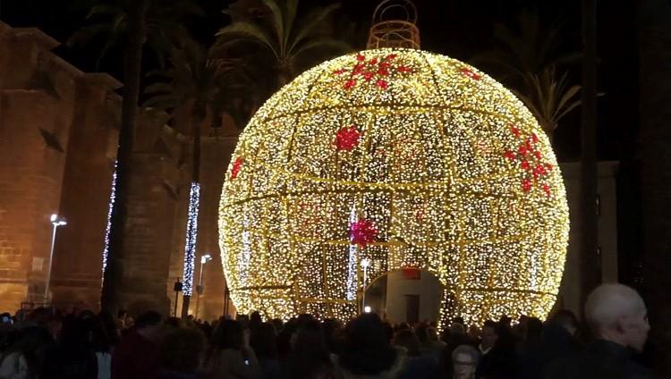 Ya es Navidad en Almería