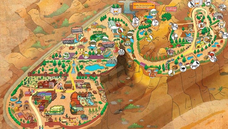 mapa parque